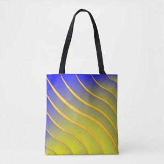 Streifen-Welle Tasche