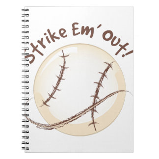 Streik-EM heraus Notizblock