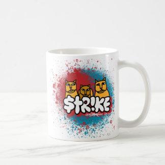 """Streik """"ich Liebe die Bevölkerungs-Explosions-"""" Kaffeetasse"""