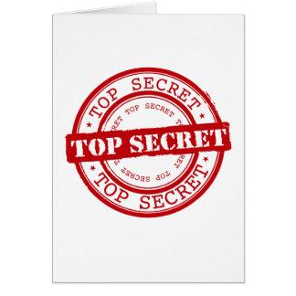 Streng geheim karte
