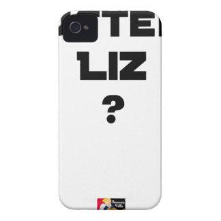 STRENGE LIZ - Wortspiele - Francois Ville iPhone 4 Case-Mate Hülle