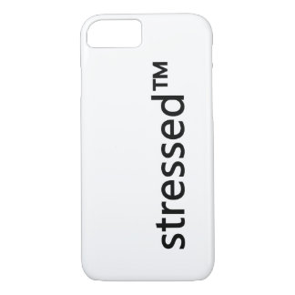 stressed™ einfacher iPhone Fall iPhone 8/7 Hülle