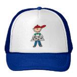Strichmännchen-Backen-Plätzchen Baseball Cap