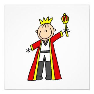 Strichmännchen-König Ankündigungen