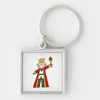 Strichmännchen-König Schlüsselband