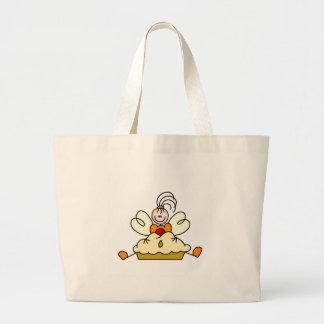 Strichmännchen-Küchen-feenhafte Taschen-Tasche Jumbo Stoffbeutel
