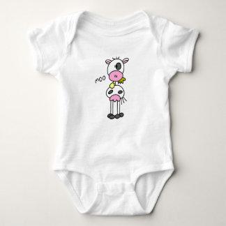 Strichmännchen-Kuh-T - Shirts und Geschenke