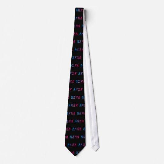 Strichmännchen stick figures individuelle krawatten