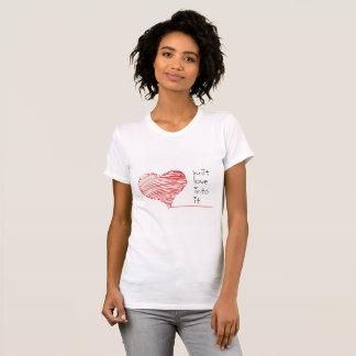 Strick-Liebe in es T - Shirt