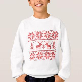 Strick mit Rotwild Sweatshirt