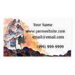 Strickende Schaf-Visitenkarte