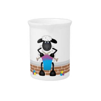Strickende Schafe für Mutterschaf Krug