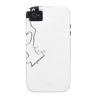 Strictly old school! iPhone 4 case