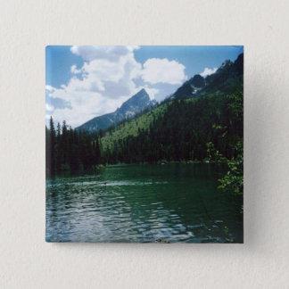String See - Yellowstone Quadratischer Button 5,1 Cm