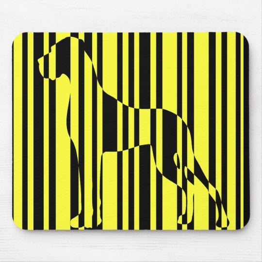 Stripe it! mousepad