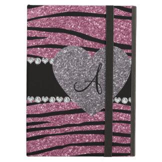 Stripes nebelhafter rosa Zebra Glitter des
