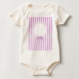 stripes reiche Blicke der schönen Mustermode-Art Baby Strampler