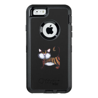 STRIPY CAT OtterBox iPhone 6/6S HÜLLE