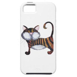 STRIPY CAT TOUGH iPhone 5 HÜLLE