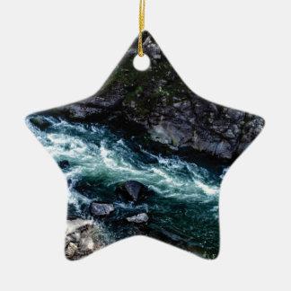 Strom des Smaragdwassers Keramik Ornament