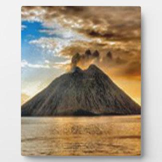 Stromboli Fotoplatte