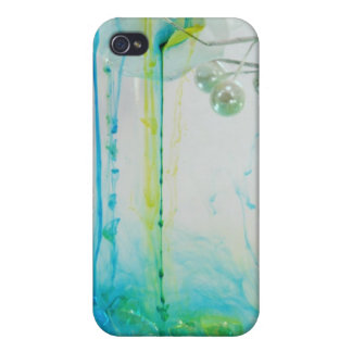 strömende Abdeckung der Schönheit iphone4 iPhone 4/4S Hülle
