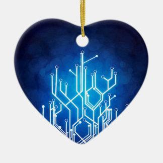 Stromkreis-Bretttechnologie Keramik Herz-Ornament