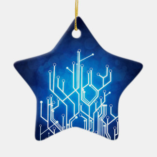 Stromkreis-Bretttechnologie Keramik Stern-Ornament