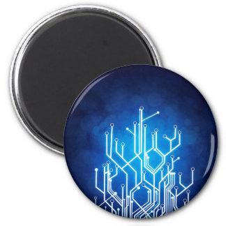 Stromkreis-Bretttechnologie Runder Magnet 5,7 Cm