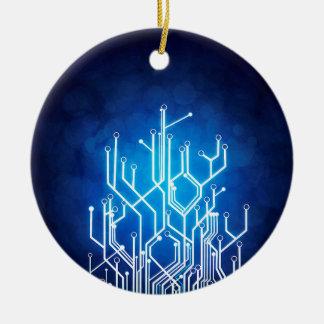 Stromkreis-Bretttechnologie Rundes Keramik Ornament