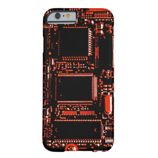 Stromkreis roter iPhone 6 kaum dort Kasten Barely There iPhone 6 Hülle