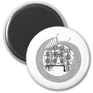 Stromkreis Runder Magnet 5,7 Cm