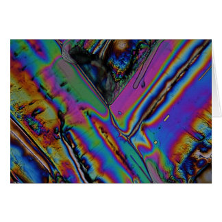 Strontium unter dem Mikroskop Karte