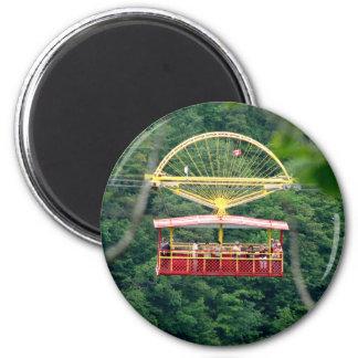 Strudel-Aero Auto: Niagara Falls Runder Magnet 5,7 Cm