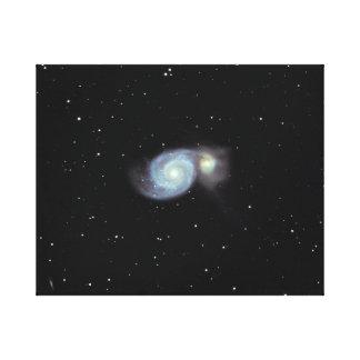 Strudel-Galaxie #7 Leinwanddruck