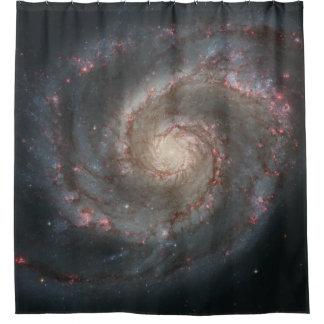 Strudel-Galaxie-Duschvorhang Duschvorhang