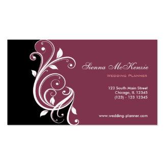 Strudel-Hochzeits-Planer Visitenkarten