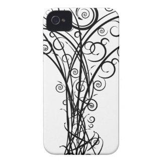 Strudel-Pfeil-Baum iPhone 4 Hülle