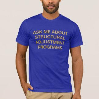 Struktureller Abstimmungsprogramm-T - Shirt
