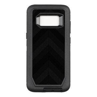 Strukturierte dunkle Streifen OtterBox Defender Samsung Galaxy S8 Hülle