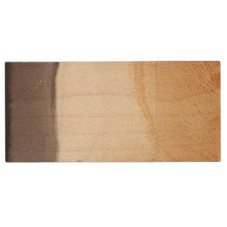 Strukturierter Hintergrund 2 Holz USB Stick