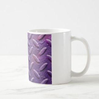 Strukturierter metallischer Hintergrund Kaffeetasse