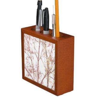 Strukturierter Natur-Druck Stifthalter