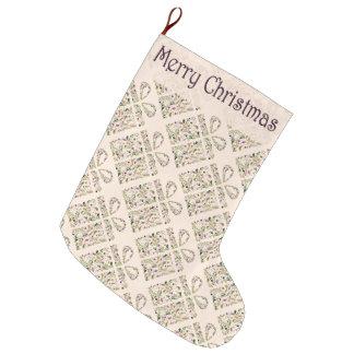 Strumpf - toskanischer Kasten u. Bogen Großer Weihnachtsstrumpf