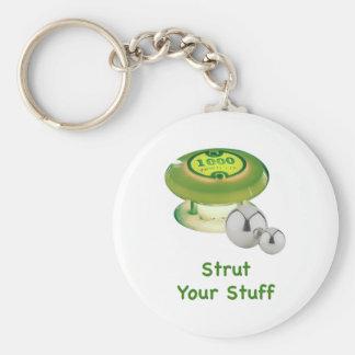 Strut Ihren Material-Flipperautomaten Schlüsselbänder