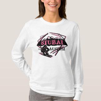 Stubai Österreich Ski-Logo Hoodie Damen rosa