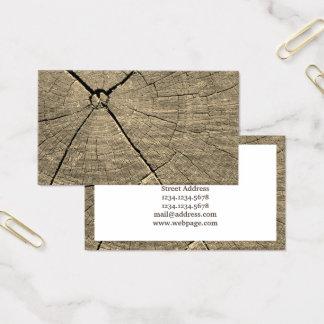 Stück Holzbildabdeckung Visitenkarte