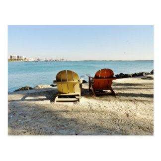 Stück in im Stadtzentrum gelegener Miami-Postkarte Postkarte