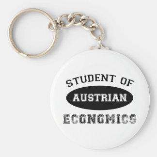 Student der österreichischen Wirtschaft Standard Runder Schlüsselanhänger