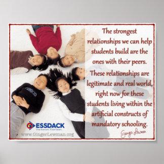 Studenten-Beziehungen sind das stärkste Plakat